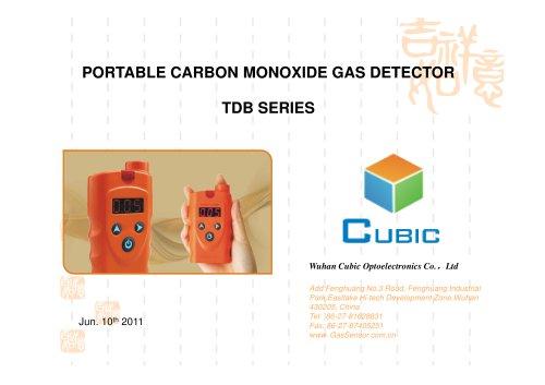 Handheld Carbon Monoxide Gas Detector TDB Series