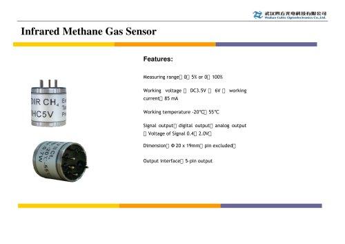 Infrared Methane gas sensor