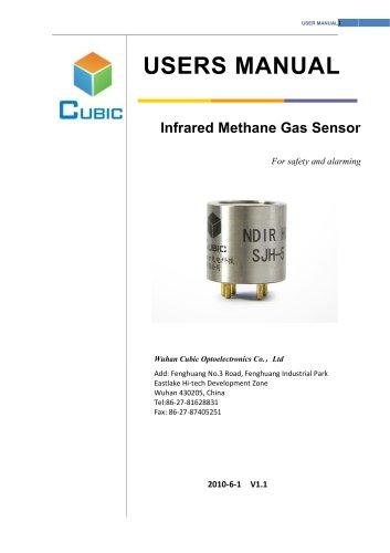 infrared methane sensor SJH series User Manual