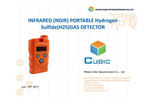 INFRARED (NDIR) PORTABLE Hydrogen