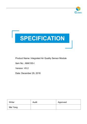 Integrated Air Quality Sensor-AM4100-I