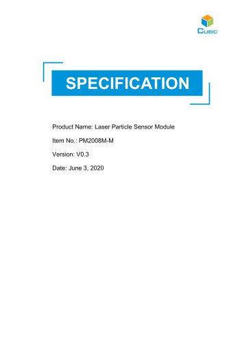 Laser Particle Sensor-PM2008M-M