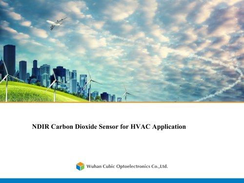 NDIR Carbon Dioxide Sensor for HVAC Application