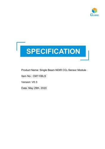 NDIR CO2 Sensor Module-CM1106LS