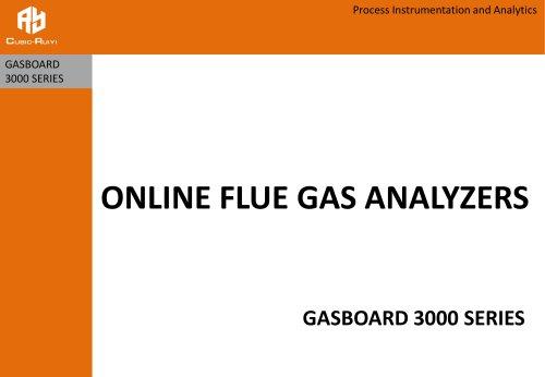 Online Flue Gas Analyzer Gasboard 3000 Series