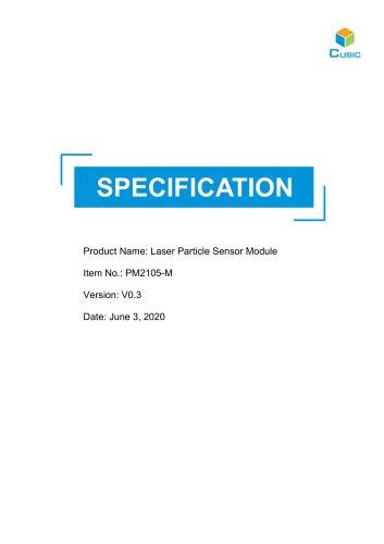 PM2015-M Laser Particle Sensor Module