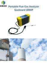Portable flue gas analyzer Gasboard 3000P