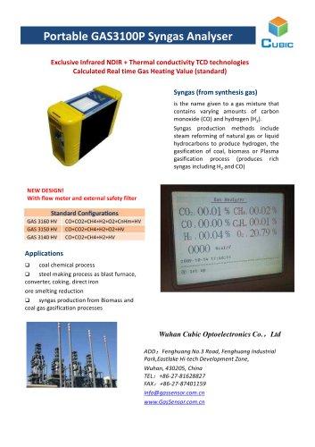 Syngas portable analyzers