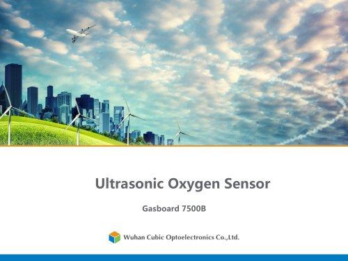 Ultrasonic Oxygen Sensor/ Gasboard 7500B
