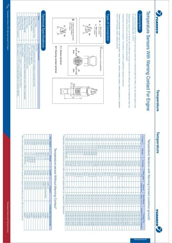 TS temperature switch pages 17/18