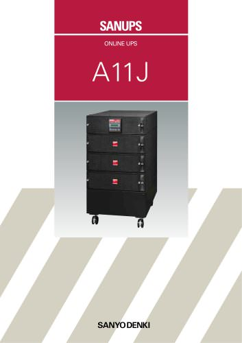 1 to 20kVA Modular UPS: A11J