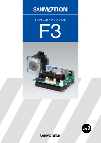 SANMOTION F3 3-phase stepper motor and driver
