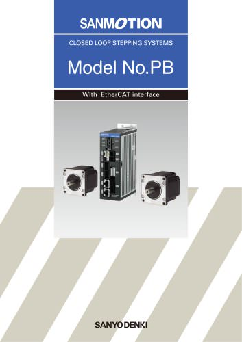 SANMOTION MODEL No.PB Ethercat Interface
