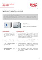 The HMC product range - an overview - 5