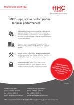 The HMC product range - an overview - 8