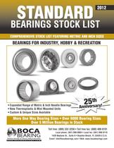 Boca Bearings - 2012-Standard-bearing-stocklist
