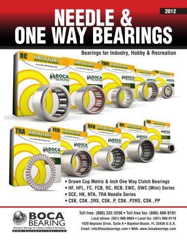One Way Bearing Catalog