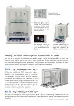 BM Series of Micro Analytical Balances - 3