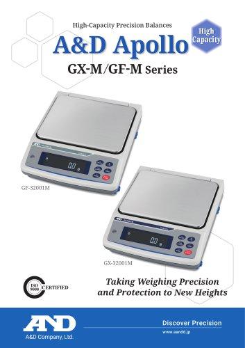 A&D Apollo GX-M/GF-M series of high-capacity precision balances