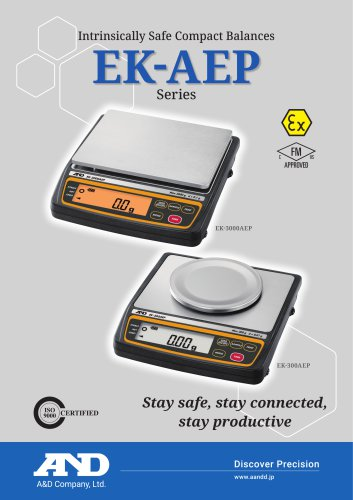 EK-AEP Series - Intrinsically Safe Compact Balances