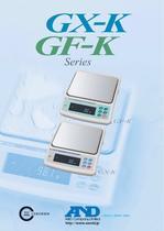 GX-K/GF-K Series of Precision Industrial Balances