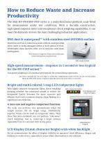 HV-CWP/HW-CWP Series of Waterproof Platform Scales - 2