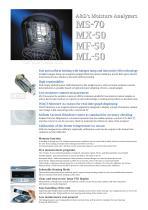Moisture Analyzer/M series - 2