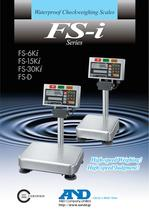Waterproof Checkweighing Scales/FS-i Series - 1