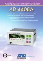 Weighing Indicator with Field Network-support/AD-4408A - 1