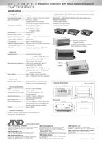 Weighing Indicator with Field Network-support/AD-4408A - 2