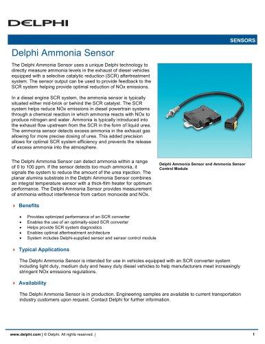Delphi Ammonia Sensor