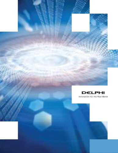 Delphi corporate brochure