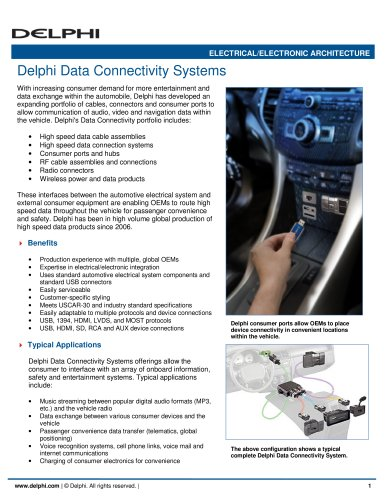 Delphi Data Connectivity Systems