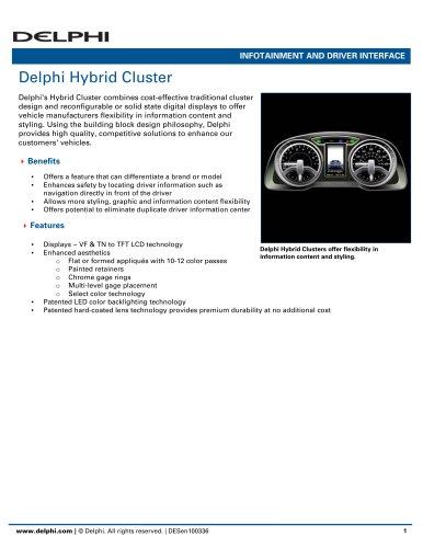 Delphi Hybrid Cluster