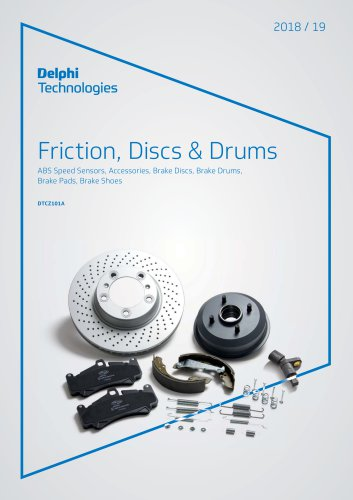 Friction, Discs & Drums