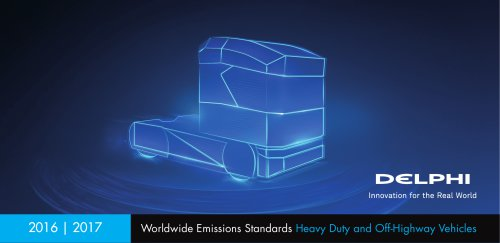 Worldwide Emissions Standards Heavy Duty and Off-Highway Vehicles
