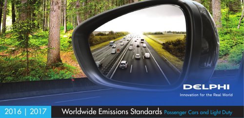 Worldwide Emissions Standards Passenger Cars and Light Duty