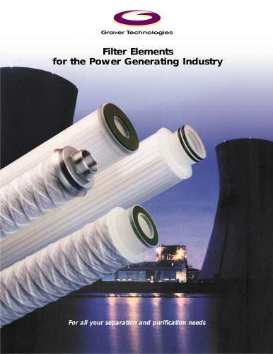 Power Generation Filter Elements Brochure