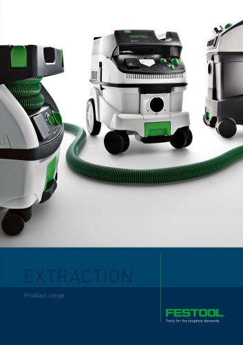 EXTRACTION Product range
