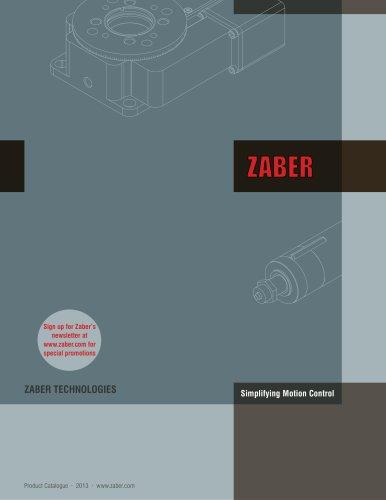 Zaber 2013 Catalogue