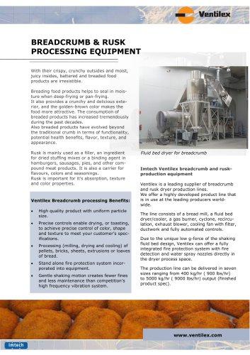 Breadcrumb production lines