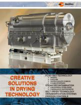 CREATIVE SOLUTIONS IN DRYING TECHNOLOGY