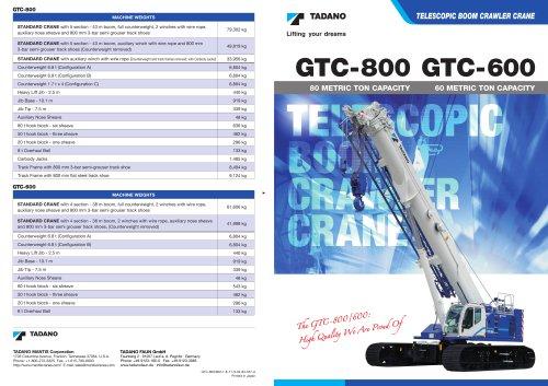 GTC-800, GTC-600
