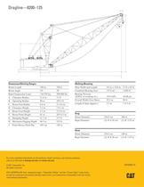 Cat® 8200-125 Dragline - 2