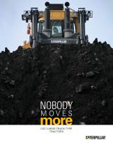 Cat® Large Track-Type Tractors: Nobody Moves More - 1