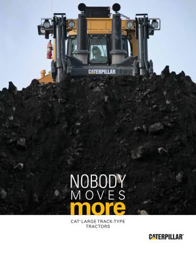 Cat® Large Track-Type Tractors: Nobody Moves More
