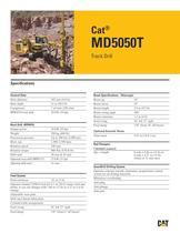 Cat® track drills MD5050 T - 1