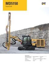 Cat® track drills MD5150 - 1