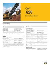Electric Rope Shovels 7295 - 1