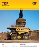 Mining Truck (797F) - 1